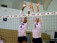 Senior middle blocker Symone Speech had 13 kills in the team's win over DePaul and added six versus Marquette. Speech is third on the team with 262 kills this season. Kirk Zieser/The Hoya