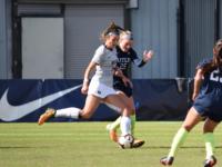 Senior forward Caitlin Farrell leads Georgetown with 18 goals and 39 points this season. Sophia Nunn/The Hoya
