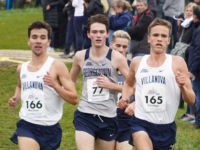Senior distance runner Nick Wareham finished first for the Hoyas at the ----. In  his career, Wareham has a personal record time in the 1500m of 3:44.68. GU HOYAS