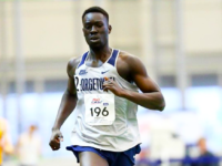 GUHOYAS  Sophomore Middle-Distance runner finished 1st in the 1000m with a time of 2:24.48.