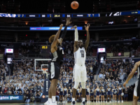 MEN'S BASKETBALL | Georgetown Falls Late to Marquette
