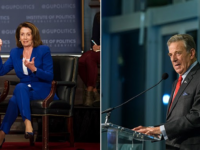 GEORGETOWN UNIVERSITY | Speaker of the U.S. House of Representatives Nancy Pelosi (left) and chair of the SFS Board of Advisors Paul Pelosi (SFS '62)(right) donated $1.6 million to support students seeking a career in public service.