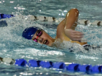 SWIMMING AND DIVING   Strong Showing for Hoyas in Tri-Meet With Seton Hall and Providence