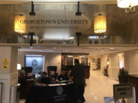 WILL SIMON/THE HOYA | Georgetown University's board of directors approved a $75 million maintenance plan, which will be allocated to facilities repairs, including the roofs of Alumni Square's apartments and renovations of Alumni Square west.