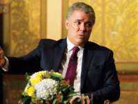 KIRK ZEISER/THE HOYA| President Iván Duque Márquez of Colombia called for greater support for the diplomatic blockade to put pressure on Nicolás Maduro in his first official state visit to the U.S.