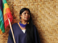 PATRICIA GUALINGA MONTALVO/FACEBOOK |  The three-day summit aims to strengthen ties between priests and indigenous leaders, likePatricia Gualinga of theKichwa people, in preparation for an assembly of bishops called by Pope Francis on conservation in the Amazon.