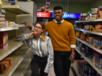 AMBER GILLETTE/THE HOYA | Norman Francis Jr. (COL '20) and Aleida Olvera (COL '20) stress student outreach and diversity as they transition to the Georgetown University Student Association executive.