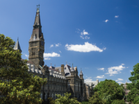 FILE PHOTO: ALEXANDER BROWN | Georgetown is one of eight universities under investigation by the Department of Education for potentially violating education regulations tied to the admissions bribery scheme.