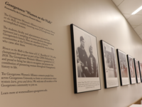 GWA Exhibits Historic Alumnae of Georgetown
