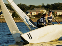 GUHOYAS | The Georgetown coed team placed third in the Graham Hall Intercoference Regatta behind Yale and the College of Charleston on March 16.