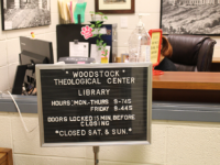 FILE PHOTO: ASHLEY CHEN/THE HOYA | Three priests credibly accused of sexual assault worked at the Woodstock Theological Center, which operated from 1973 to 2013. Though the center was run independently by Jesuits, Woodstock had several ties to campus life, including student employees.