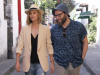 AG STUDIOS | Charlize Theron and Seth Rogen make a solid team, Theron's character shares a look at the challenges women face not only in their private relationships, but also their public careers.