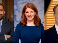 GEORGETOWN INSTITUTE OF POLITICS AND PUBLIC SERVICE/FACEBOOK | Olivia Alair Dalton, Jonathan Burks, Karen Travers, Jeff Colyer and Stephanie Valencia are GUPolitics' fall 2019 fellows.