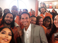 KIM KARDASHIAN/TWITTER | The Georgetown Prison Scholars Program at the Washington, D.C. Jail, was launched by professor Marc Howard's Prisons and Justice Initiative in January 2018. The program provides both credit and noncredit courses for incarcerated scholars.