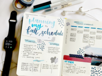 Bullet Journals Highlight the Aesthetics of Study Culture