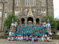 GEORGETOWN UNIVERSITY | In previous years orientation advisors and NSO captains have viewed the Hoya Real Talk performance before freshman and transfer students. Due to time constraints, this year, most did not.