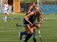 GUHOYAS | Freshman forward Ellie Maransky sets her sights upfield during the Hoyas' latest road trip.