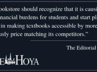 EDITORIAL: Improve Bookstore Practices