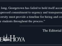 EDITORIAL: Clarify Title IX Hiring Process