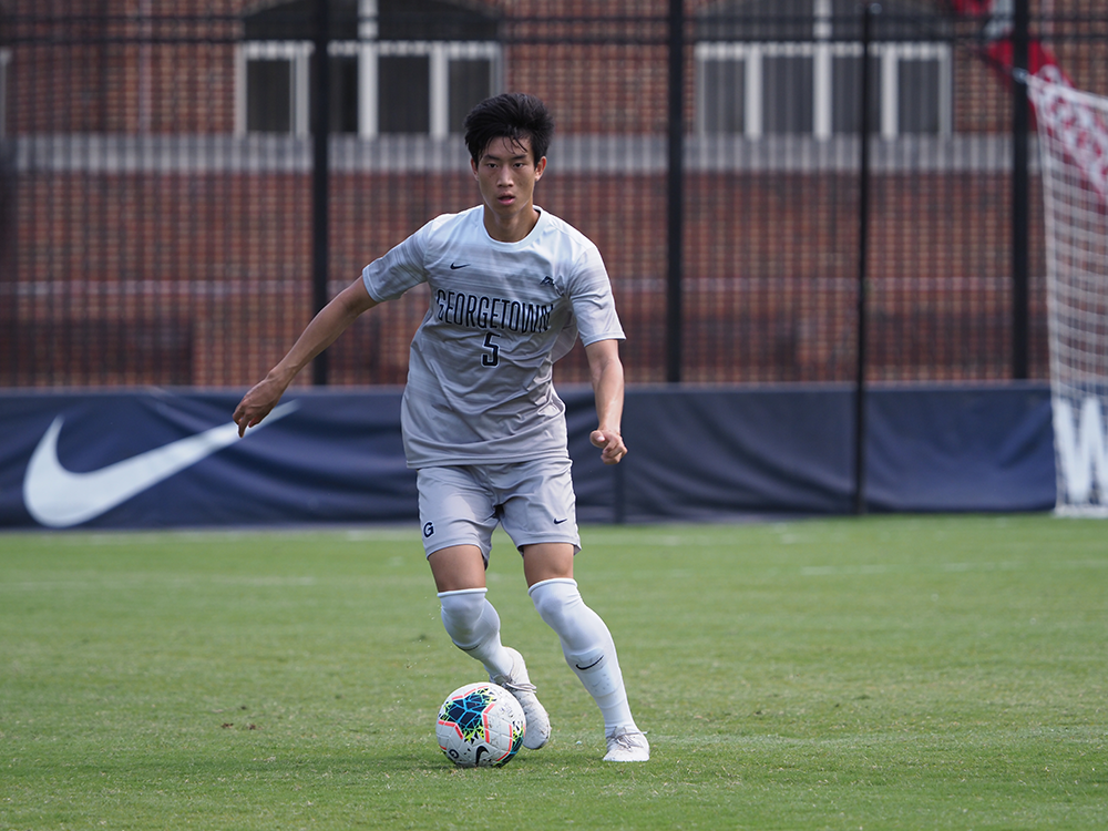 MEN'S SOCCER | Georgetown Defeats Lehigh Following Tough Draw With DePaul
