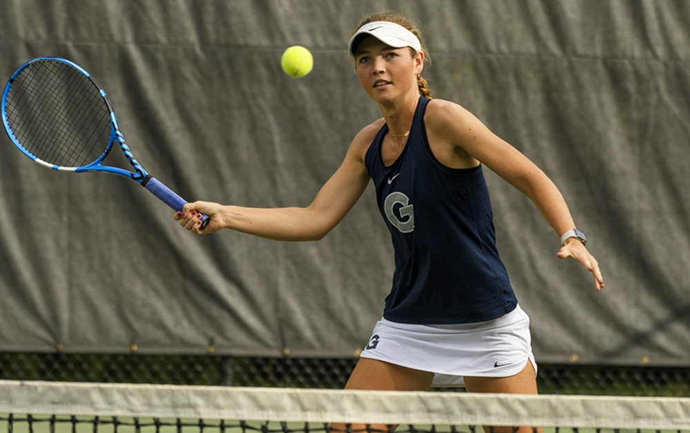 WOMEN'S TENNIS | Georgetown Sees Varied Outcomes at Navy Fall Invitational
