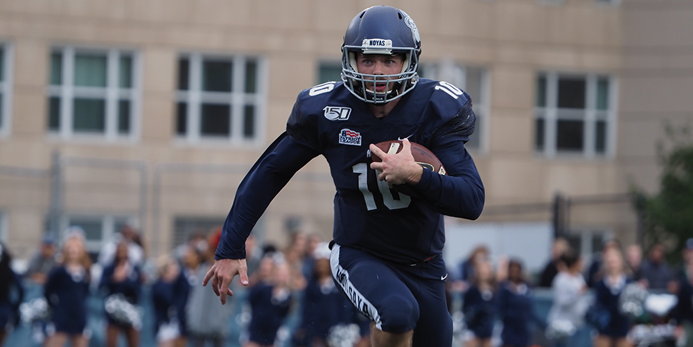 FOOTBALL | Georgetown Falls to Fordham in Final Minutes of Homecoming Game