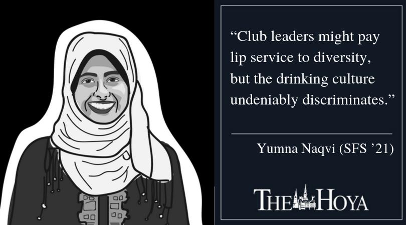 NAQVI: Reassess Club Drinking Culture