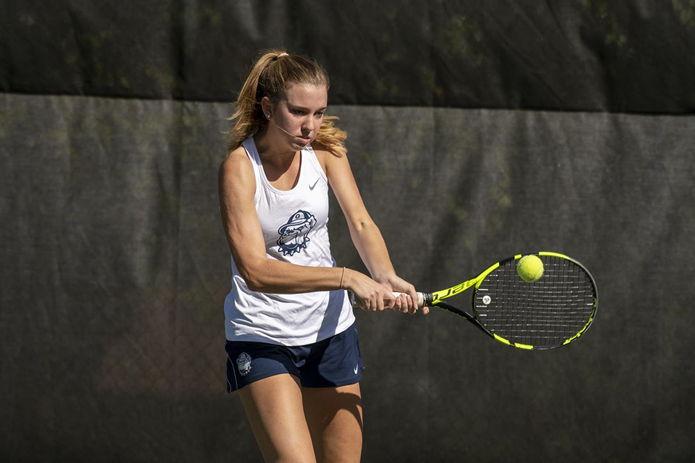 WOMEN'S TENNIS | Georgetown Drops Spring Season Opener by 1 Point to Maryland
